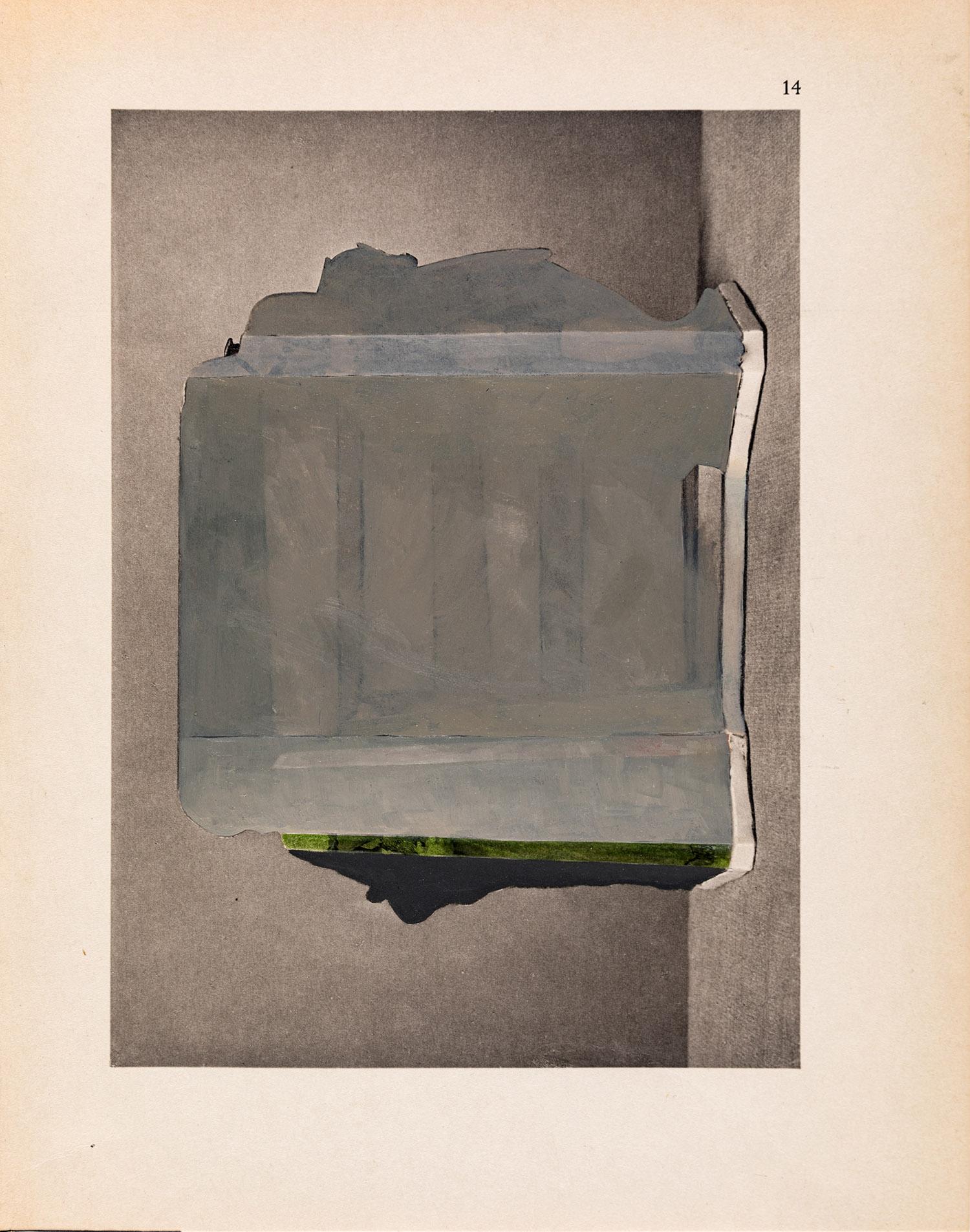 Doubletten 2015 – 2018, Öl und/oder Graphit auf Lichtdruck, je 29 x 22,5 cm