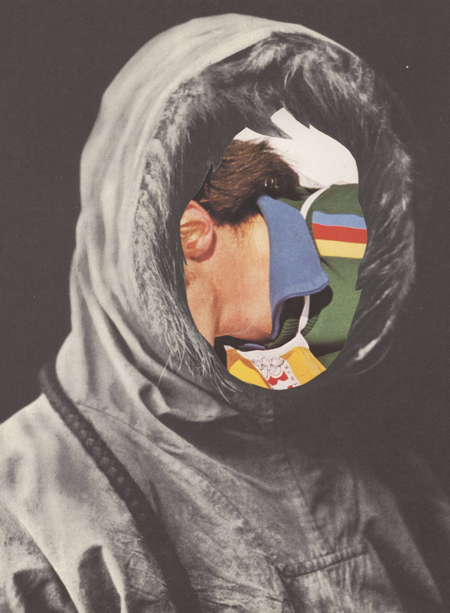 Konstruktivist  2008, 27 x 19,5 cm, Collage