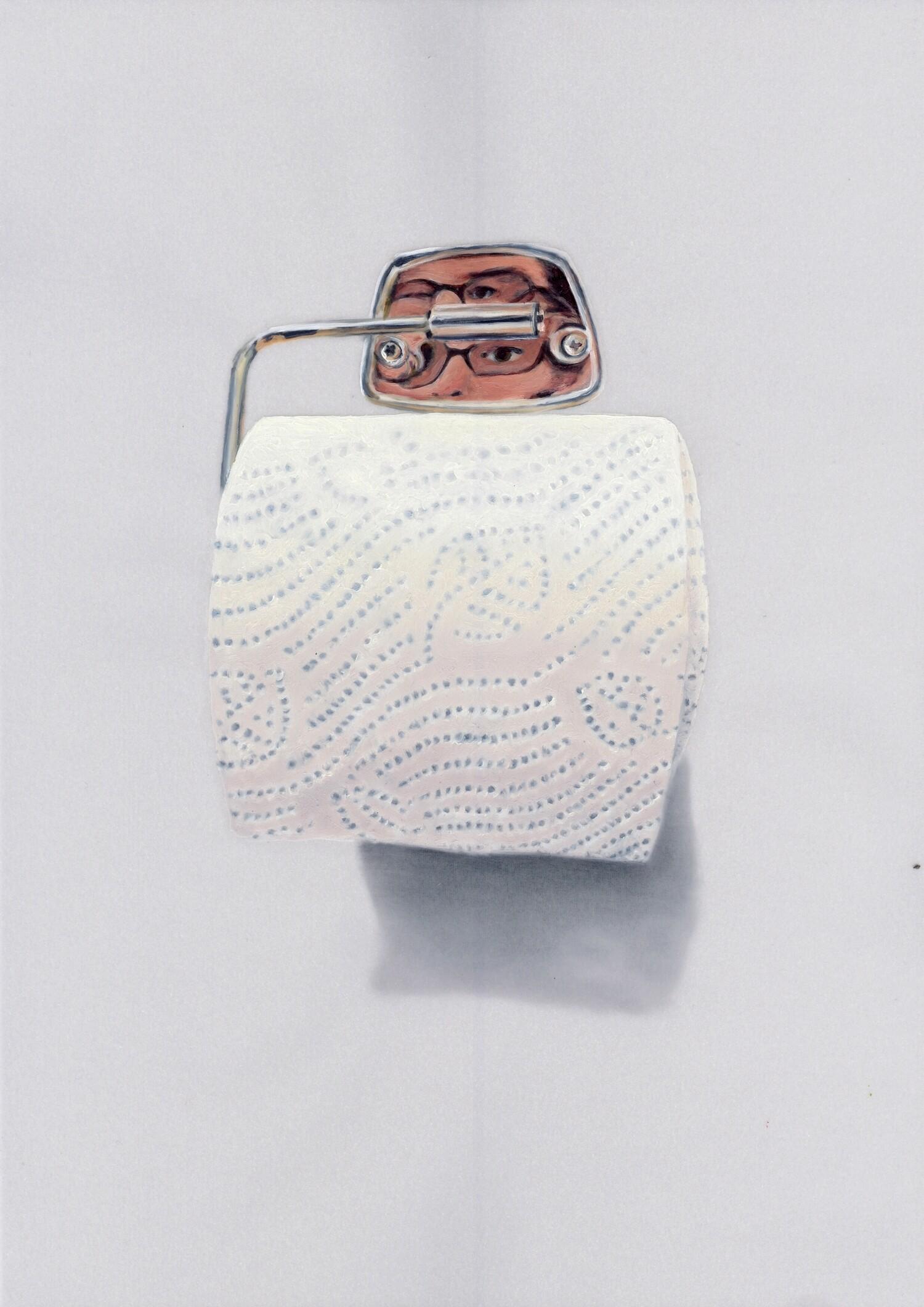 Vellum 25#2012, 29,7 x 21 cm, Öl auf Transparentpapier