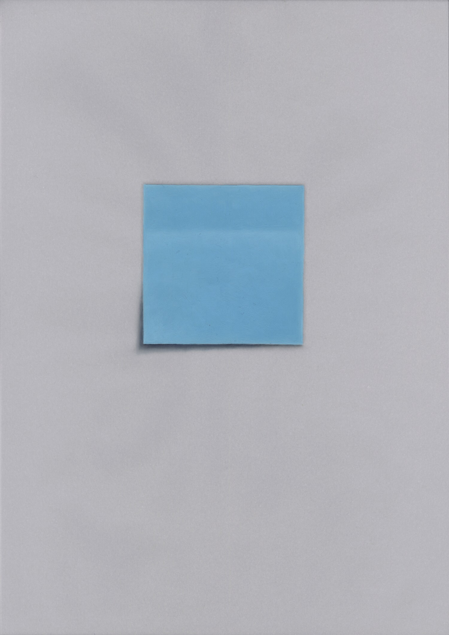 Vellum 02#2013, 29,7 x 21 cm, Öl auf Transparentpapier