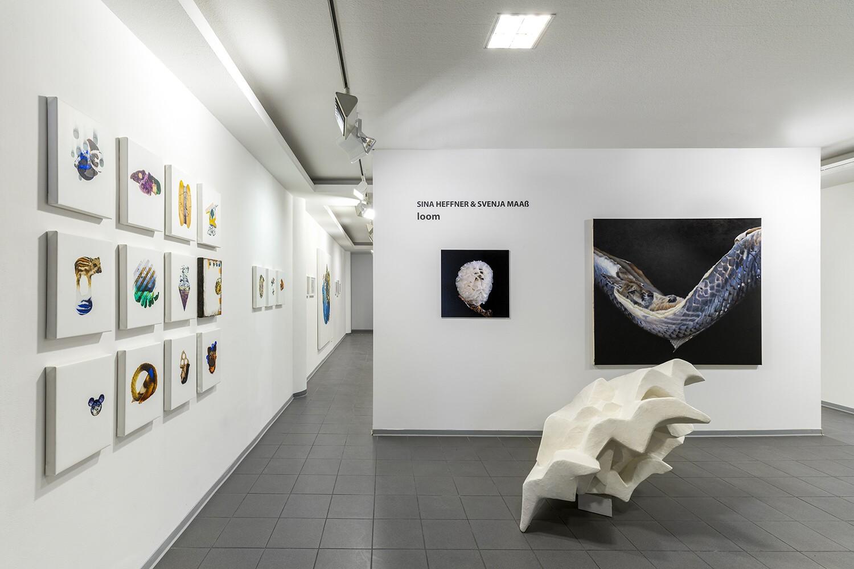 loom, Installationsansicht Kunstverein Buchholz